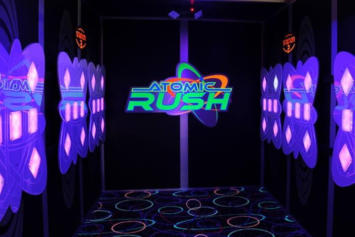 Atomic Rush Challenge Game