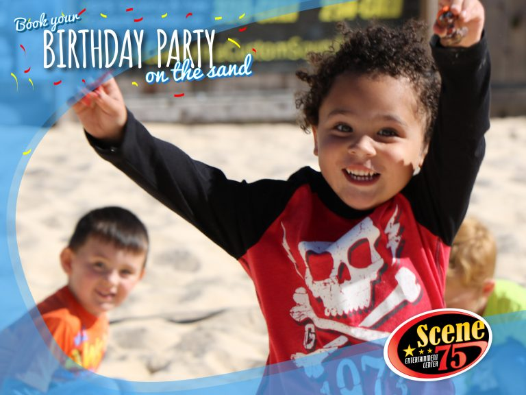 Birthday Party On The Sand