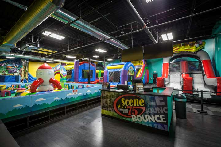 Bounce Zone 60 Minutes Birthday Party Attractions