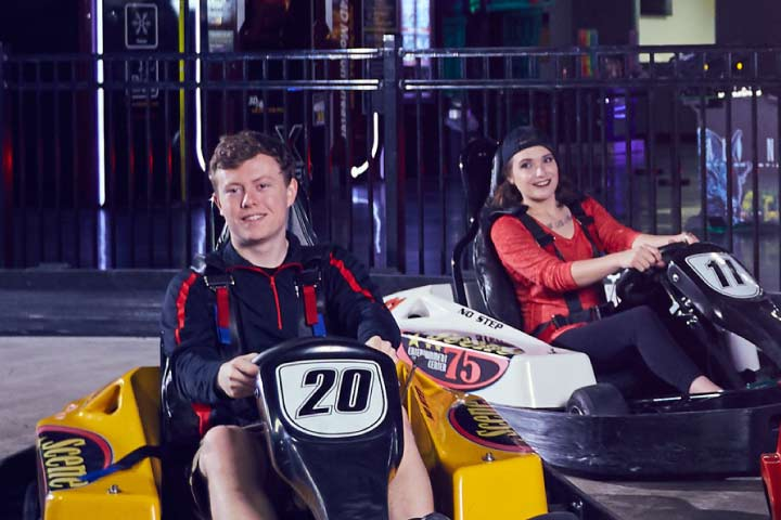 Go Karts Columbus >> Scene75 Columbus The Largest Indoor Entertainment Center In