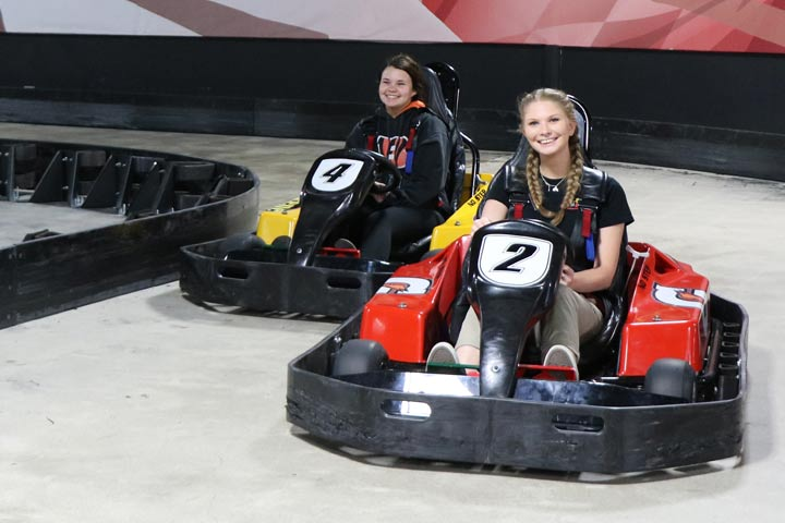 Scene75 indoor go carts