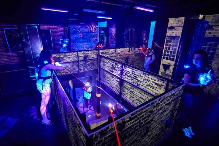 Laser Tag 2 Missions Birthday Party Attractions
