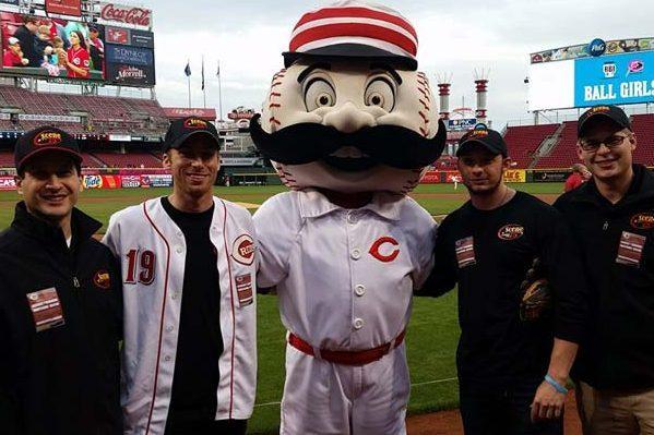 Sponsorship with Scene75 & Cincinnati Reds