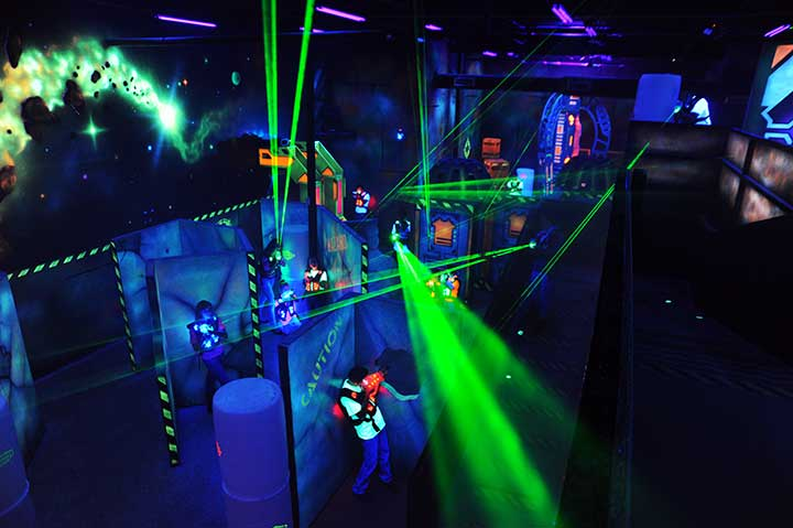 Laser Tag Scene75 Dayton