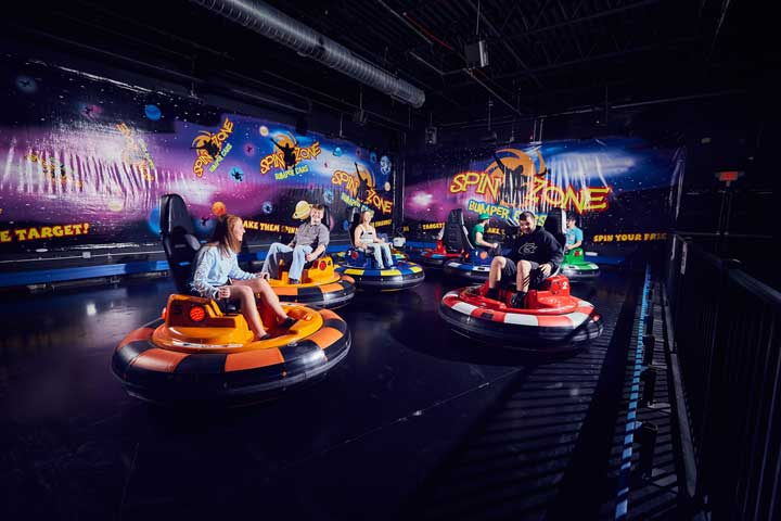 Birthday Attractions: Bumper Cars