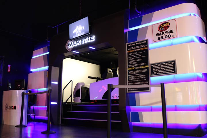 Valkyrie Motion Simulator Ride