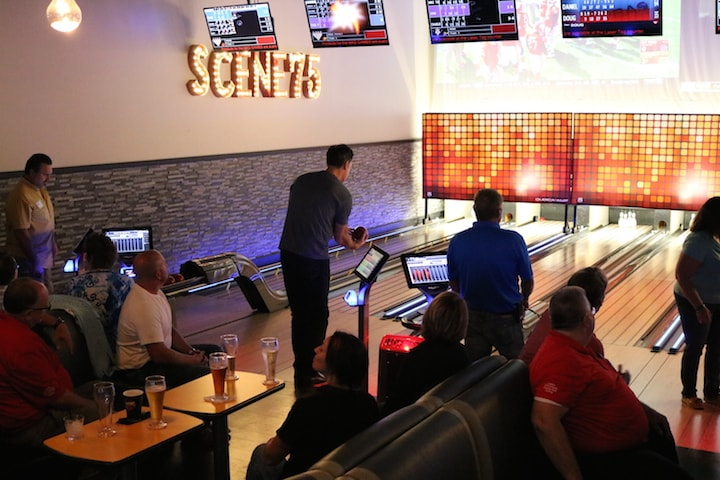 private company bowling event
