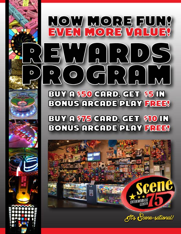 Scene75 Rewards Program