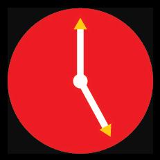 5th Anniversary Clock