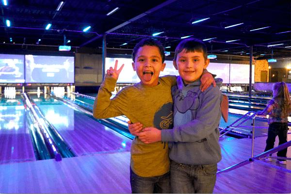 The Pin Deck - kids bowling