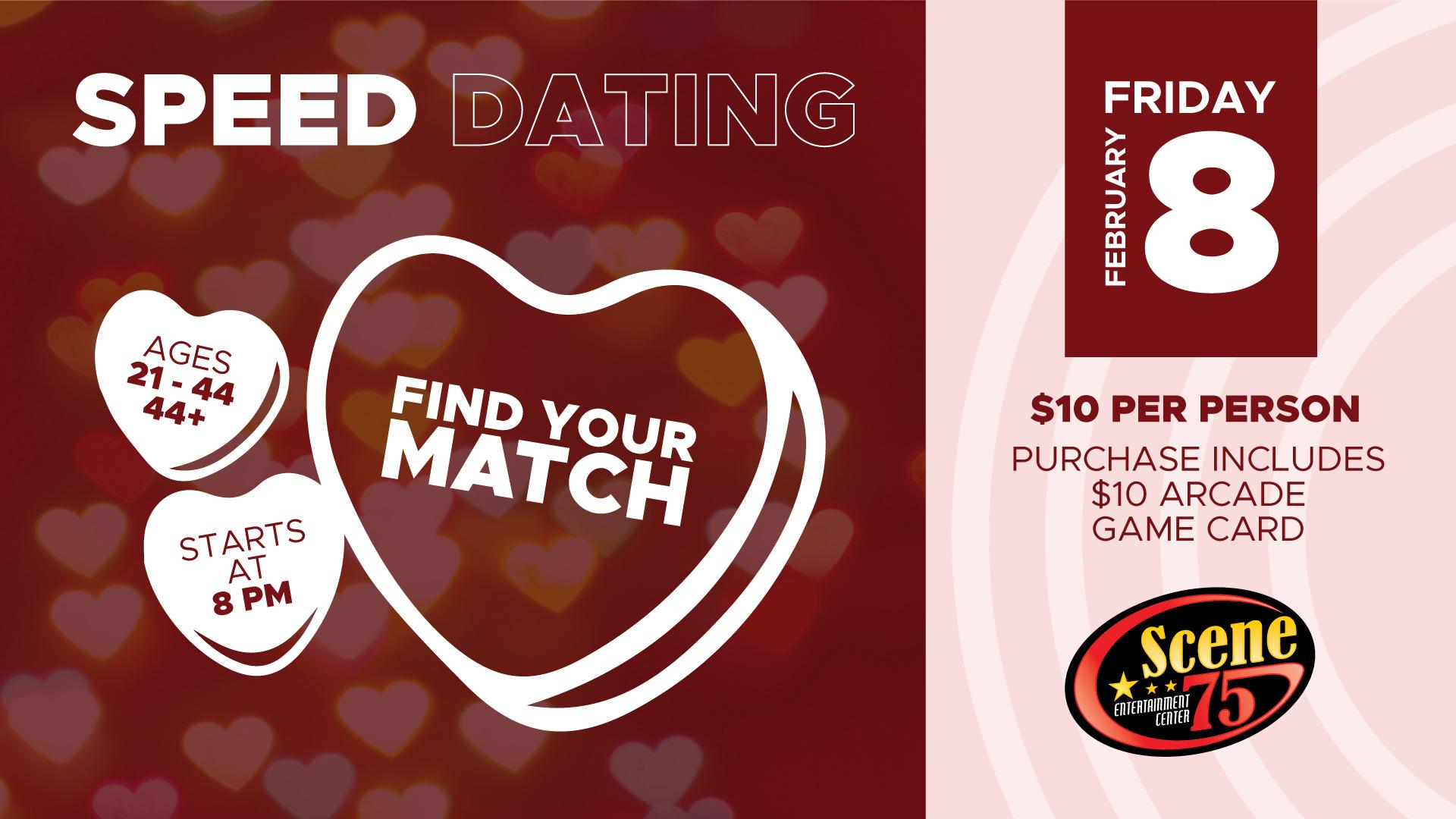 Speed Dating - Scene75 Entertainment Centers