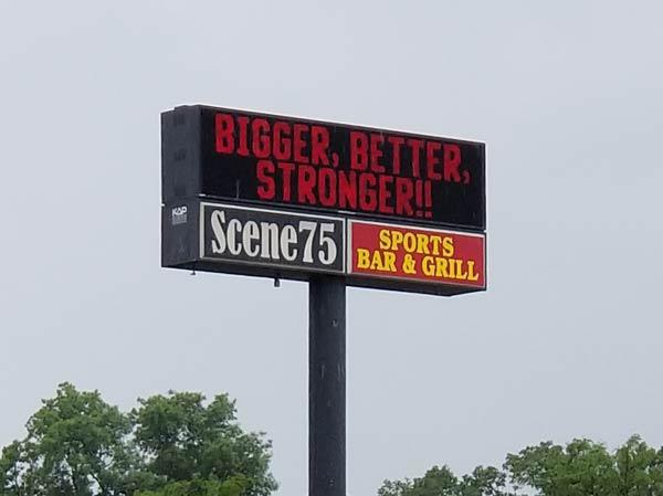 Scene75 Sign